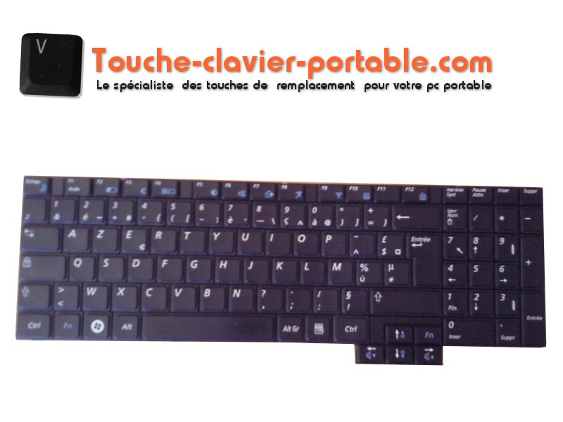 touches remplacement clavier samsung r